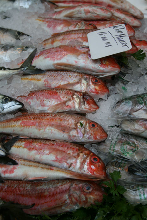 Borough Market fish