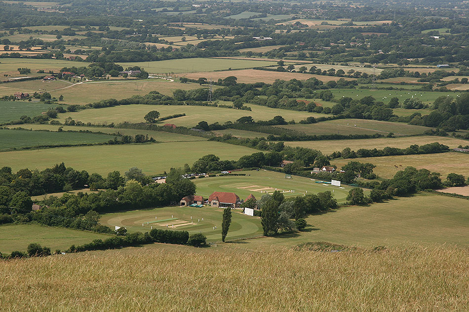 Green fields of sussex