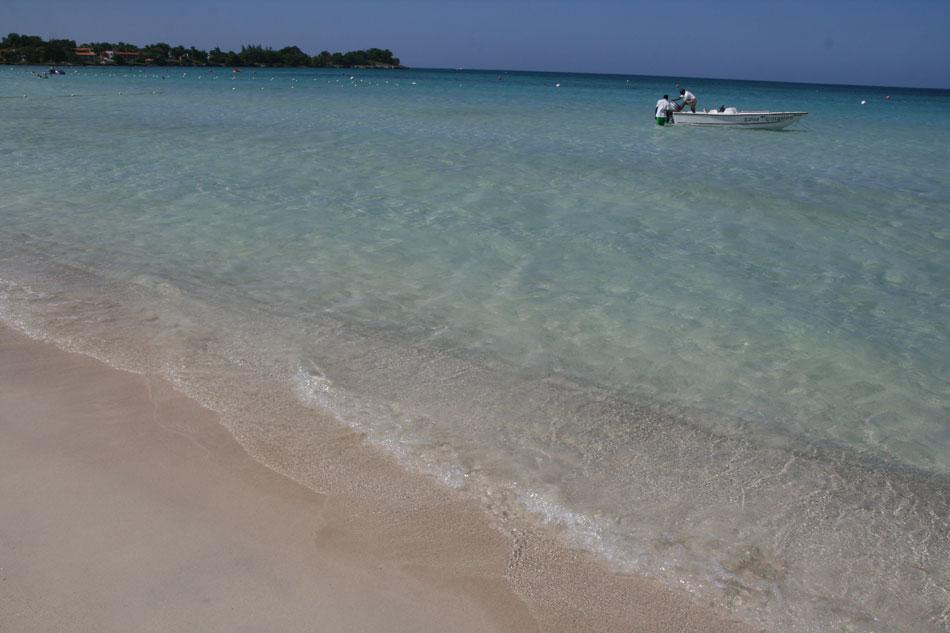Clear caribbean