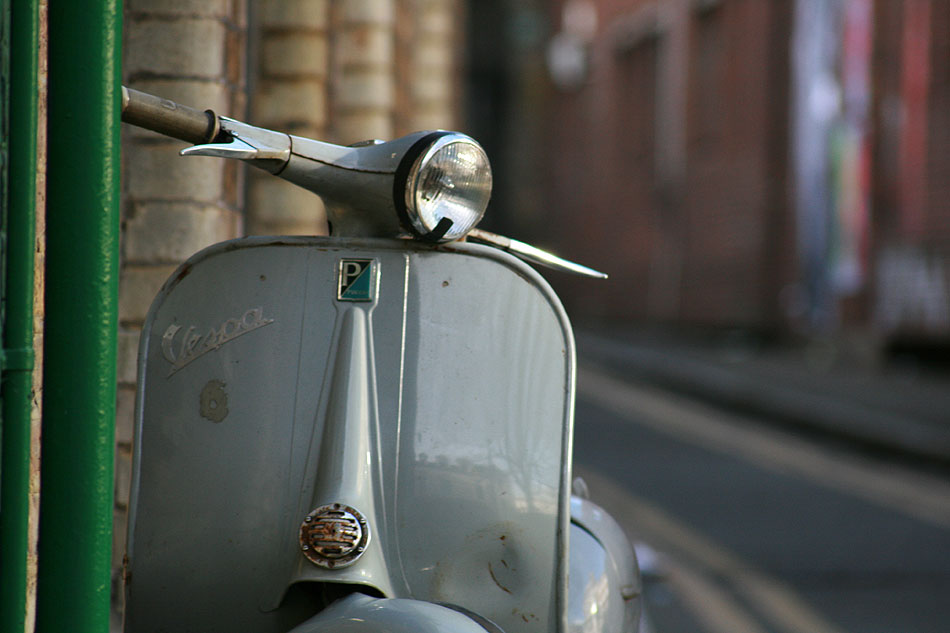 Shoreditch Vespa