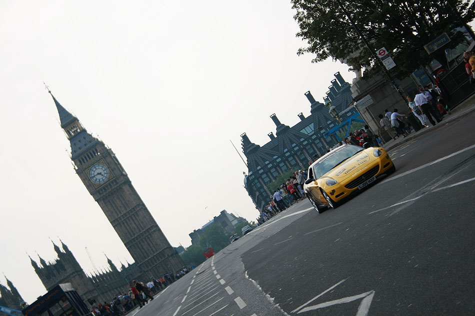 Westminster gumball rally