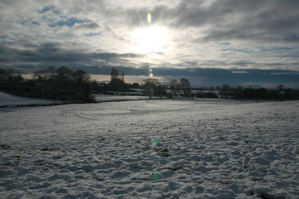 Yorkshire snowscape