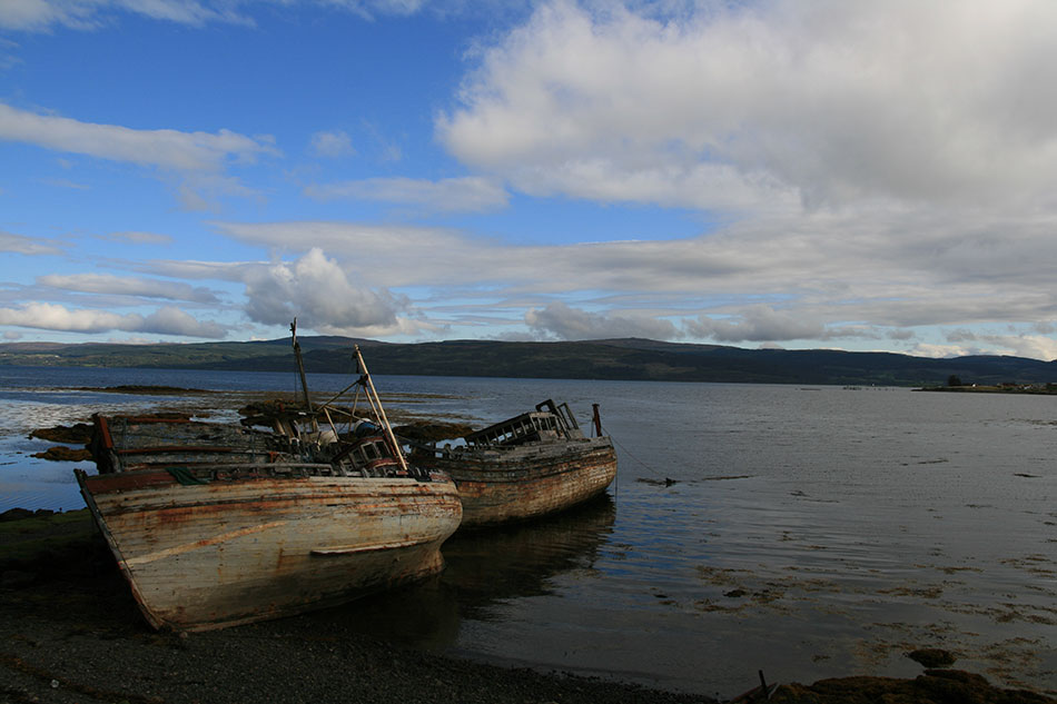 Rusting boats